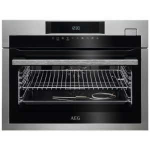 AEG KSE782220M Built In Compact Steam Combination Oven - STAINLESS STEEL