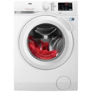AEG L6FBI841N 8kg Washing Machine 1400rpm 6000 Series – WHITE