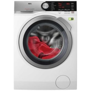 AEG L8FEC846R 8kg OKO Steam Washing Machine 1400rpm 8000 Series – WHITE