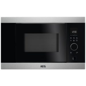 AEG MBB1756D-M 60cm Built In Microwave & Grill For Wall Unit – STAINLESS STEEL