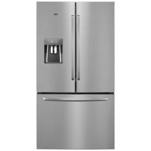 AEG RMB76311NX French Style Fridge Freezer With Non Plumbed Water Dispenser – STAINLESS STEEL