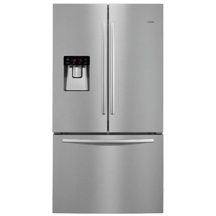 Aeg S76010cmx2 French Style Fridge Freezer With Water