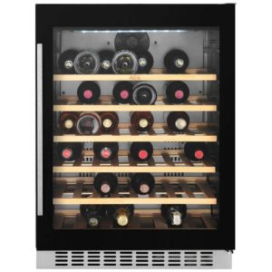 AEG SWE66001DG 60cm Integrated Undercounter Wine Cooler - BLACK