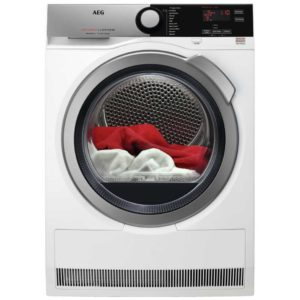 AEG T7DEE835R 8kg Heat Pump Condenser Tumble Dryer 7000 Series – WHITE