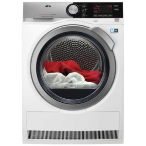 AEG T8DEC946R 9kg Heat Pump Condenser Dryer 8000 Series - WHITE