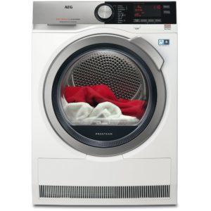 AEG T8DEC946S 9kg Heat Pump Condenser Tumble Dryer 8000 Series – WHITE