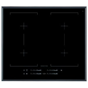 AEG HK654400FB 60cm 4 Zone Bevelled Edge Induction Hob - BLACK