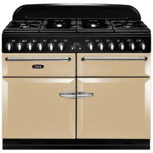 AGA Masterchef MENXSFCRM 110cm Dual Fuel Range Cooker – CREAM
