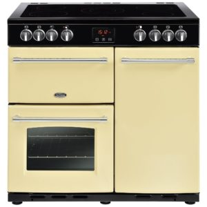 Belling FARMHOUSE 90ECRM 4126 90cm Ceramic Range Cooker - CREAM