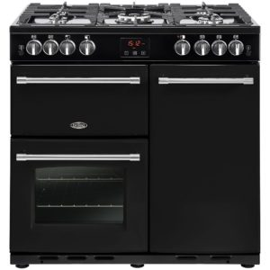 Belling FARMHOUSE 90GBLK 4127 90cm Gas Range Cooker – BLACK