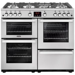 Belling COOKCENTRE 100GPROFSTA 4087 100cm Gas Range Cooker - STAINLESS STEEL
