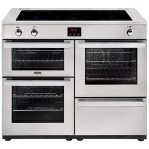 Belling COOKCENTRE 110EIPROFSTA 4102 110cm Induction Range Cooker – STAINLESS STEEL