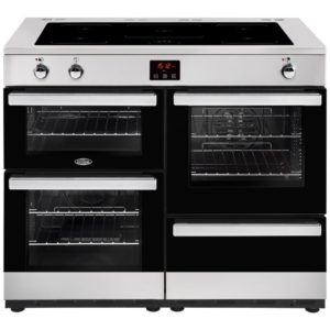 Belling COOKCENTRE 110EISTA 4103 110cm Induction Range Cooker – STAINLESS STEEL