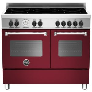 Bertazzoni MAS100-5I-MFE-D-VIE 100cm Master Series Induction Range Cooker – BURGUNDY