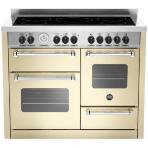 Bertazzoni MAS110-5I-MFE-T-CRE 110cm Master Series XG Induction Range Cooker – CREAM
