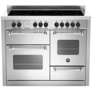 Bertazzoni MAS110-5I-MFE-T-XE 110cm Master Series XG Induction Range Cooker – STAINLESS STEEL