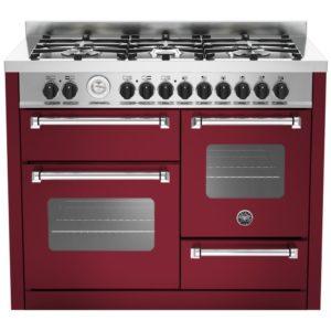 Bertazzoni MAS110-6-MFE-T-VIE 110cm Master Series XG Dual Fuel Range Cooker – BURGUNDY