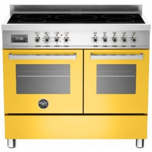 Bertazzoni PRO100-5I-MFE-D-GIT 100cm Professional Induction Range Cooker – YELLOW