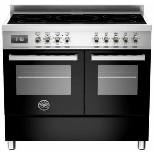 Bertazzoni PRO100-5I-MFE-D-NET 100cm Professional Induction Range Cooker – BLACK
