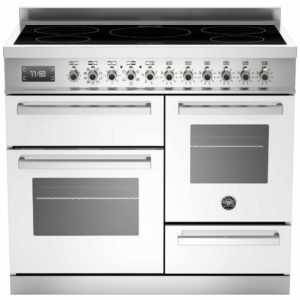 Bertazzoni PRO100-5I-MFE-T-BIT 100cm Professional XG Induction Range Cooker – WHITE