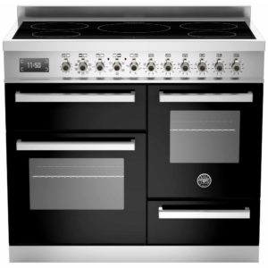 Bertazzoni PRO100-5I-MFE-T-NET 100cm Professional XG Induction Range Cooker – BLACK