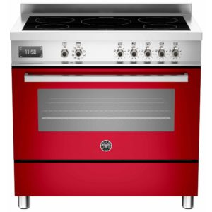 Bertazzoni PRO90-5I-MFE-S-ROT 90cm Professional Induction Range Cooker – RED