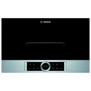 Bosch BEL634GS1B Serie 8 Built In Microwave & Grill For Wall Unit – STAINLESS STEEL