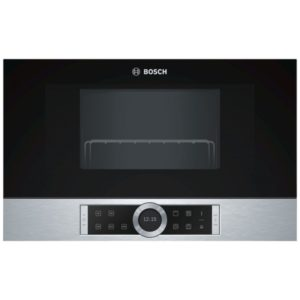 Bosch BFL634GS1B 60cm Serie 8 Built In Microwave For Wall Unit – STAINLESS STEEL
