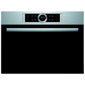 Bosch CMG633BS1B 60cm Serie 8 Combi Microwave For Tall Housing - STAINLESS STEEL