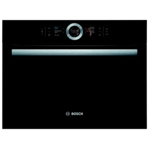 Bosch CMG656BB6B 60cm Serie 8 Built In Combi Microwave For Tall Housing – BLACK