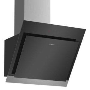 Bosch DWK67HM60B Serie 4 60cm Angled Chimney Hood – BLACK