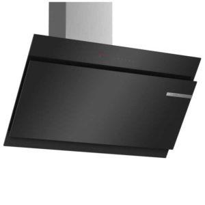 Bosch DWK97JQ60B Serie 6 90cm Angled Chimney Hood - BLACK
