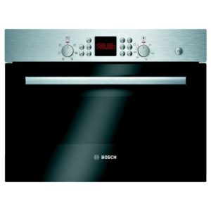 Bosch HBC84H501B 60cm Serie 6 Built In Combi Microwave For Tall Housing - STAINLESS STEEL