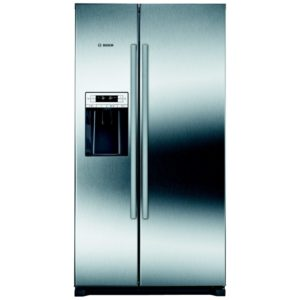 Bosch KAI90VI20G American Style Fridge Freezer With Non Plumbed Ice & Water – STAINLESS STEEL