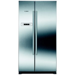 Bosch KAN90VI20G American Style Fridge Freezer Non Ice & Water - STAINLESS STEEL