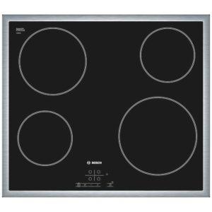 Bosch PKE645B17E 60cm Serie 4 Ceramic Hob – STAINLESS STEEL