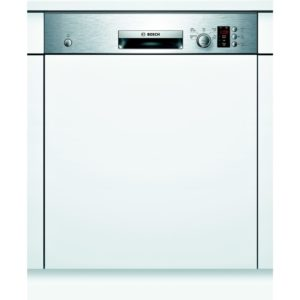 Bosch SMI50C15GB Serie 4 60cm Semi Integrated Dishwasher - SILVER