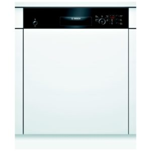Bosch SMI50C16GB Serie 4 60cm Semi Integrated Dishwasher – BLACK