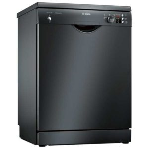 Bosch SMS25AB00G 60cm Serie 2 Freestanding Dishwasher - BLACK