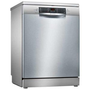 Bosch SMS46II00G 60cm Serie 4 Freestanding Dishwasher - SILVER