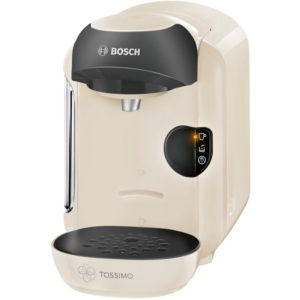 Bosch TAS1257GB Tassimo Vivy Coffee Machine - CREAM