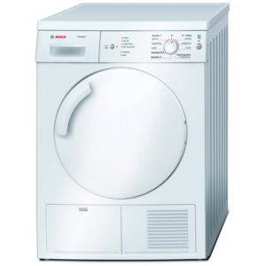 Bosch WTE84106GB 7kg Classixx Condenser Dryer - WHITE