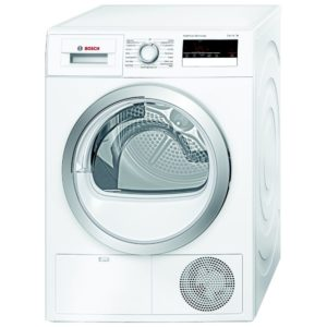 Bosch WTH85200GB 8kg Serie 4 Heat Pump Condenser Tumble Dryer - WHITE
