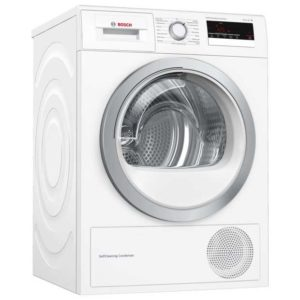 Bosch WTM85230GB 8kg Serie 4 Heat Pump Condenser Dryer - WHITE