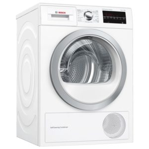 Bosch WTW85492GB 8kg Serie 6 Heat Pump Condenser Tumble Dryer – WHITE
