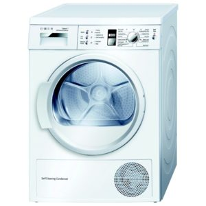 Bosch WTW863S1GB 7kg Heat Pump Condenser Tumble Dryer – WHITE - WHITE