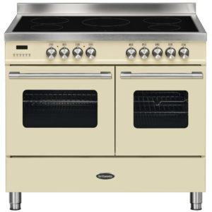 Britannia RC-10TI-DE-CR 100cm Delphi Induction Range Cooker – CREAM