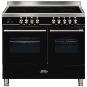 Britannia RC-10TI-DE-K 100cm Delphi Induction Range Cooker – BLACK