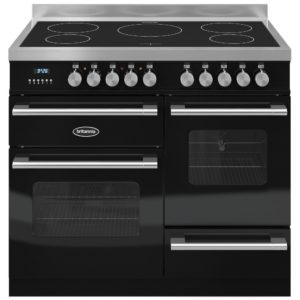 Britannia RC-10XGI-DE-K 100cm Delphi XG Induction Range Cooker – BLACK