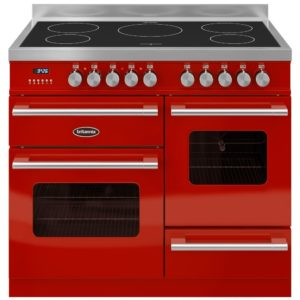 Britannia RC-10XGI-DE-RED 100cm Delphi XG Induction Range Cooker – RED